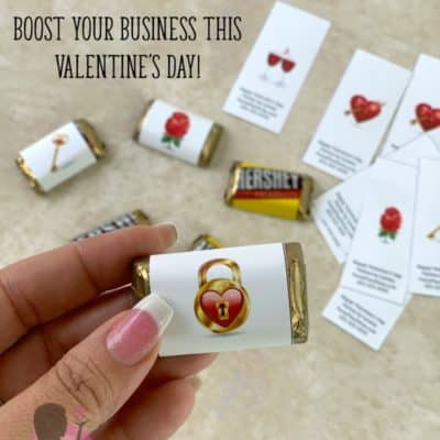 Valentine's Day Printables for Direct Sales Marketing