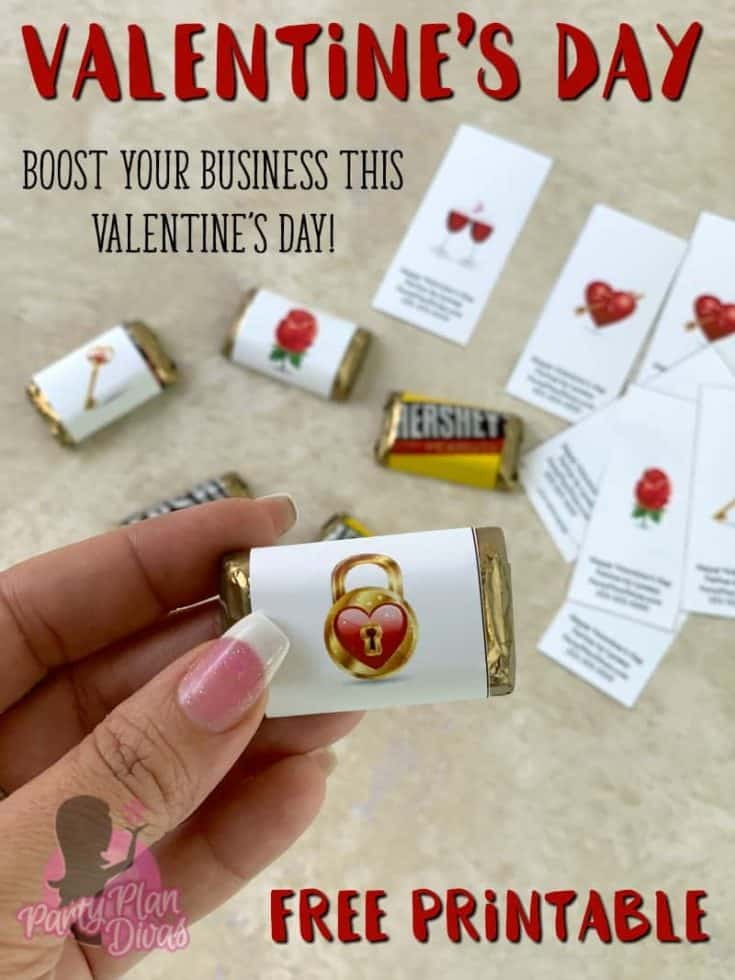Valentine's Day Candy Wrapper Printables