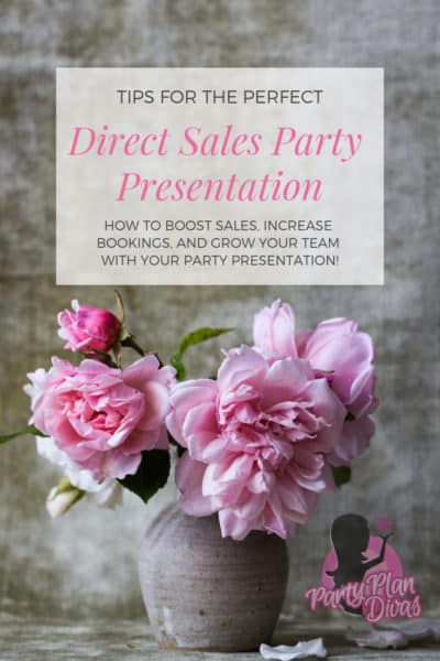 direct sales party tips