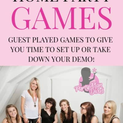 Direct Sales Home Party Games – Time Consuming Games
