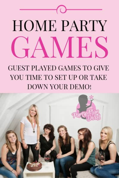 home party games list