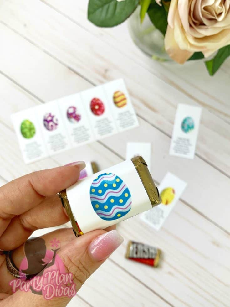 Spring Time / Easter Candy Wrapper Printables