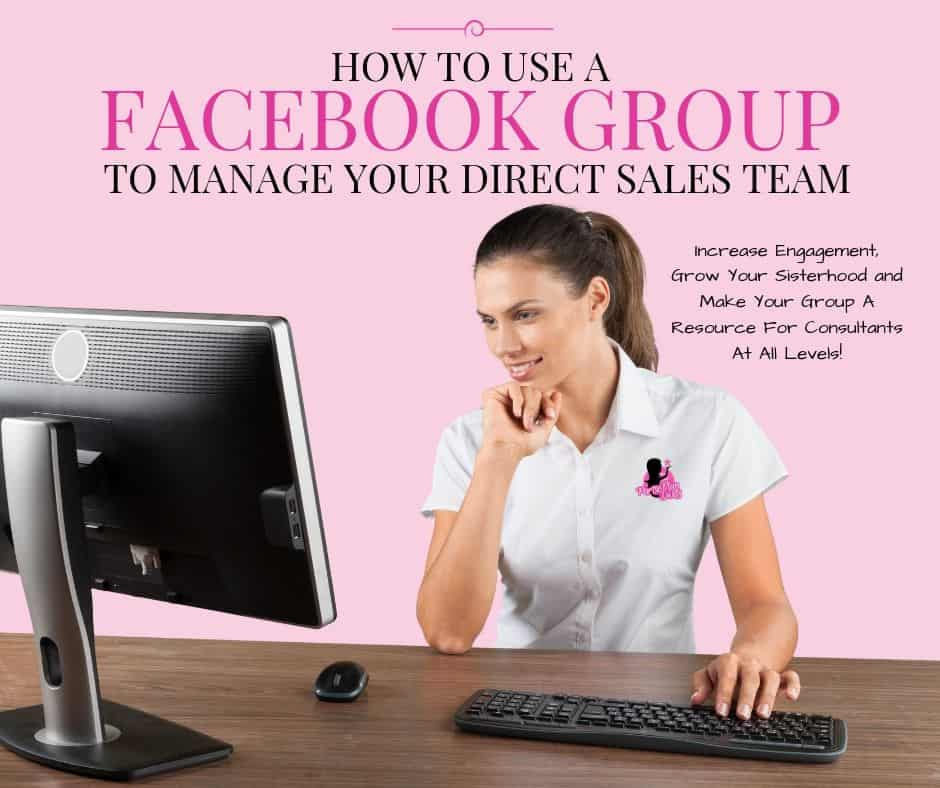 how to use a facebook group for your team