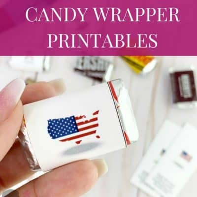Free Summertime Candy Wrapper Printables To Boost Your Business