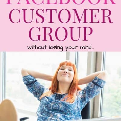 How To Run A Facebook Customer Group