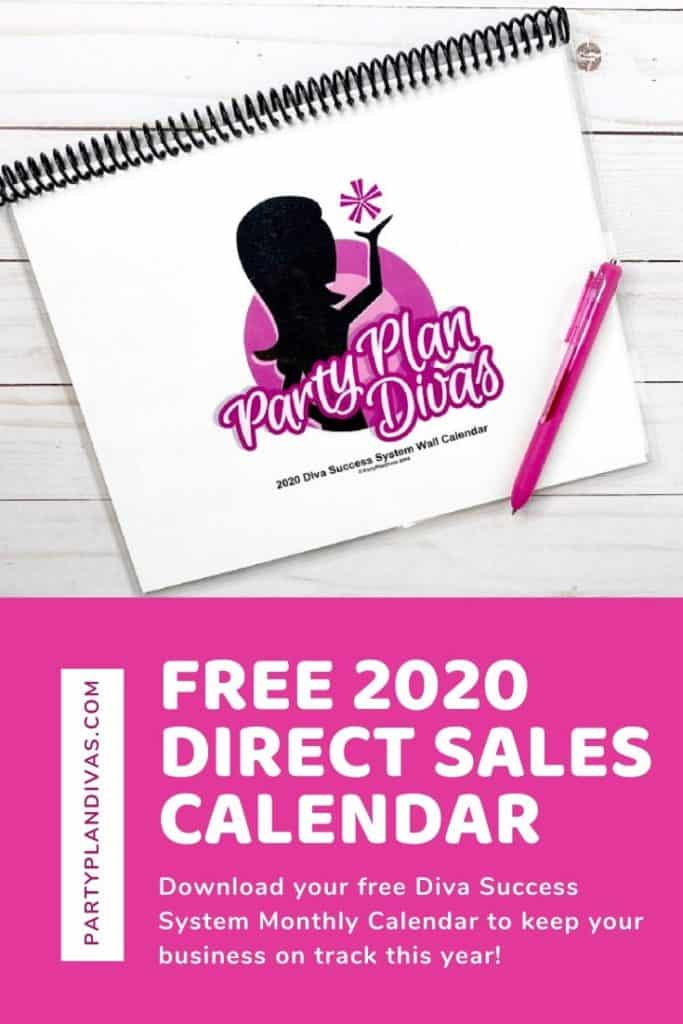 direct sales calendar printable