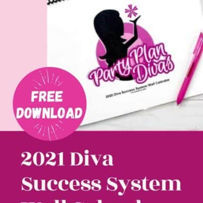 Diva Success System Wall Calendar